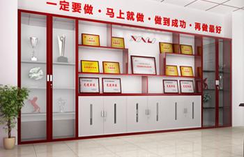 企业展示柜设计