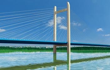 桥梁效果图设计与制作