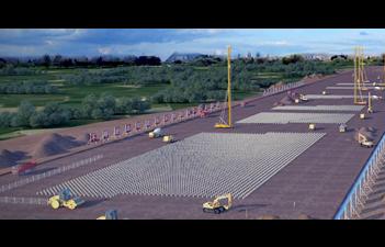 商合杭高速鐵路路基工程施工動畫制作